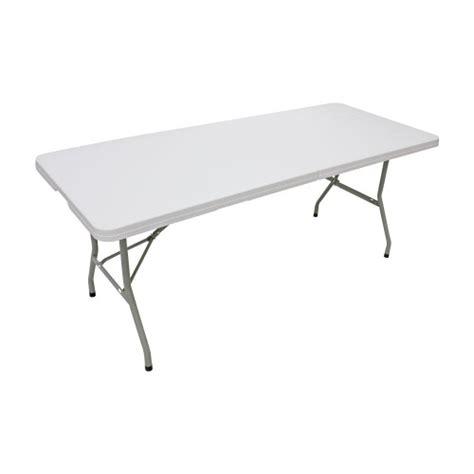 6ft Plastic Folding Table 6ft X 2ft 6in Plastic Folding Trestle Table Tables