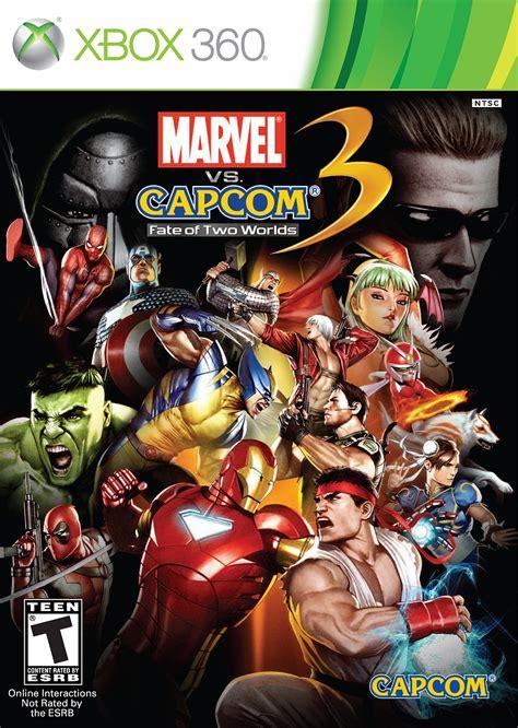 marvel vs capcom 3 marvel vs capcom 3 fate of two worlds xbox 360 ign