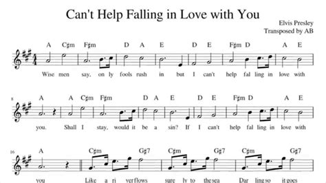 dramanice can t help falling in love can t help falling in love elvis presley sax cover