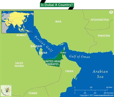 map of dubai country is dubai a country answers