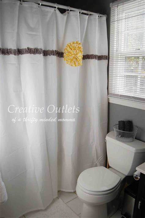 how to sew shower curtain sewing shower curtains curtains blinds