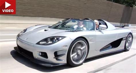 Leno Koenigsegg Leno And Christian Koenigsegg Take A Ride In The 1