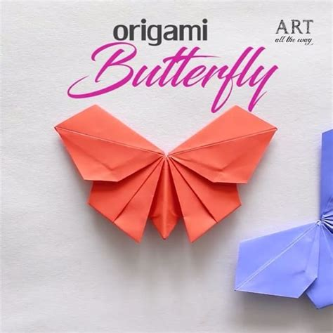 Origami Papercraft - origami butterfly diy papercraft paperbutterfly