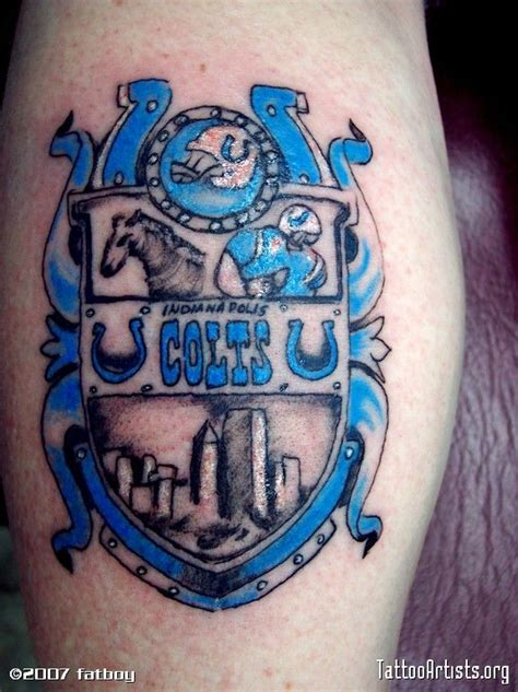 colts tattoo designs colts horseshoe search indianapolis
