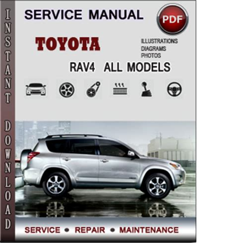 toyota rav4 service repair manual download info service manuals