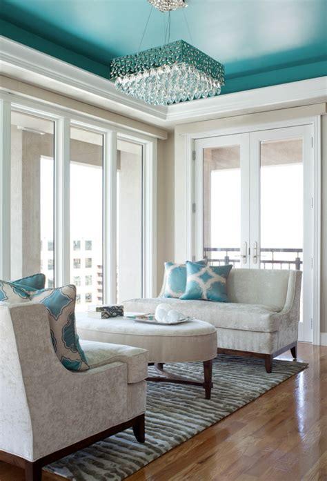 seek interior design house  turquoise