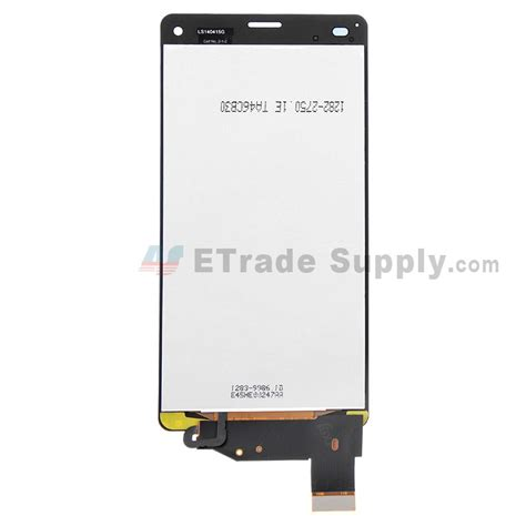 Lcd Z3 Compact sony xperia z3 compact lcd assembly black etrade supply