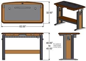 standing computer desk 2 caretta workspace