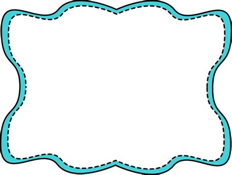 Fun clipart picture frame pencil and in color fun clipart picture frame