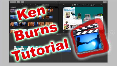 imovie tutorial ken burns imovie on ipad ken burns effect how to zoom in out of a