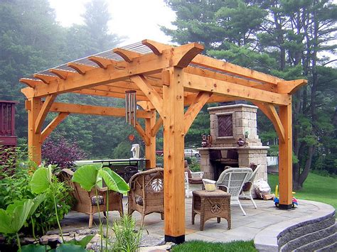 Backyard Kits by Cedar Pergola Kits