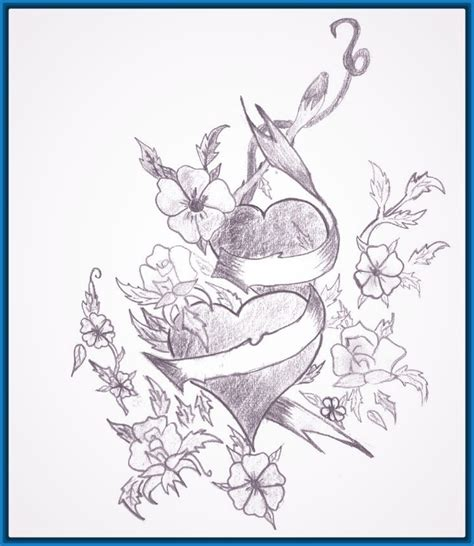 Imagenes A Lapiz De Amor Para Dibujar | dibujos faciles de amor para dibujar archivos dibujos