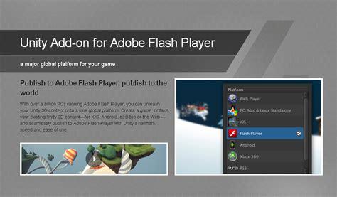 adobe flash player 2012 free original unity 4 add on for adobe flash player image mod db