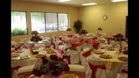 arreglos de salon para boda faos events decoracion de salon para boda color rojo y