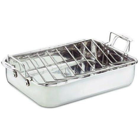 Roasting Pans With Racks by Cuisinart Chef S Classic Stainless Roasting Pan With Rack