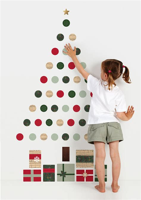 Chalkboard Kitchen Wall Ideas - wall christmas tree ideas top 20 for 2012