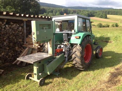 Banc De Scie Sur Tracteur by Deutz Avec Scie A Ruban Camions Tracteurs Engins De Tp