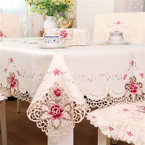 embroidery design for table cloth aliexpress com buy ty1017 european rustic quality