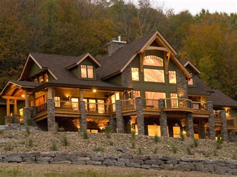 rustic timber frame house plans luxurious timber frame lodge in new york gt gt http www