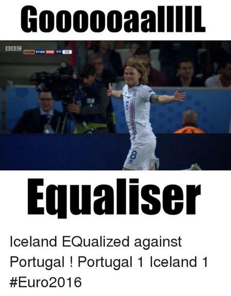 Iceland Meme - goooooaaliil bbc ce equaliser iceland equalized against