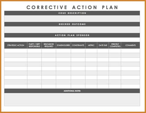 plan of correction template notary letter