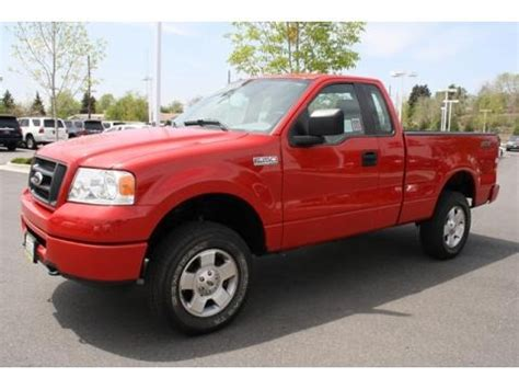 2006 F150 Specs by 2006 Ford F150 Stx Regular Cab 4x4 Data Info And Specs