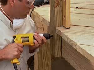 how to install a banister installing deck stair railing posts installing deck stair