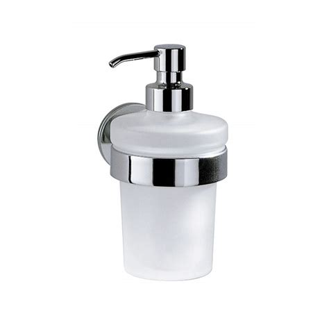 Touch Soap touch liquid soap dispenser a46670 chrome and glass