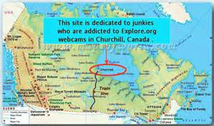 map churchill canada churchill