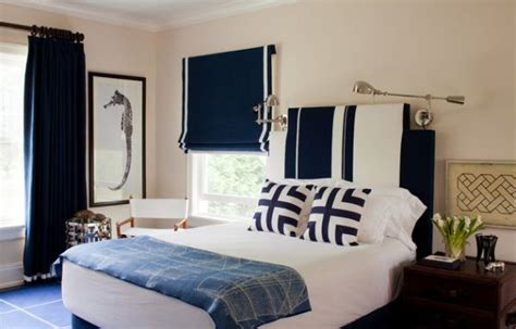 blue boys bedroom navy blue and white make a rich refined and bold