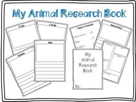 research projects animals and books for children on pinterest