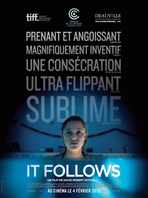 film it follows acclaimed horror feature it follows transmits three new