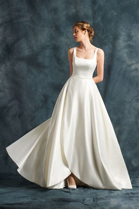 Square Wedding Dress by 10 Ideas About Square Wedding Dress On