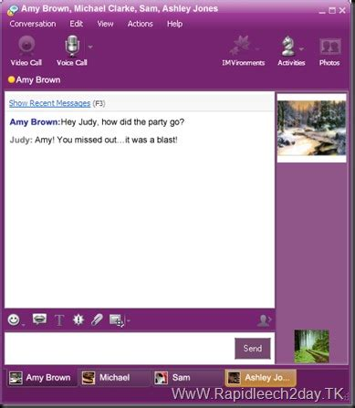 Live Chat Rooms Like Yahoo Messenger by Sports Yahoo Messenger 11 5 0 192