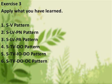 sentence pattern s lv pa exles basic sentence patterns weeheey