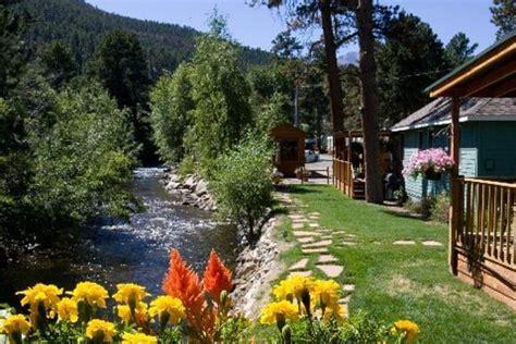 estes park cottages on the river paradise on the river prices cground reviews estes park co tripadvisor