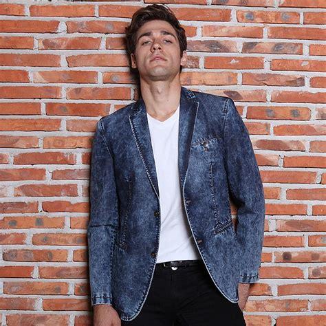 mebosya 2016 top brand fashion men s suit jacket slim 2017 hot 2016 new fashion brand men s jeans suit men