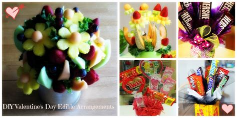 Edible Arrangement by 5 Diy Valentine S Day Edible Arrangements Heather Roberts