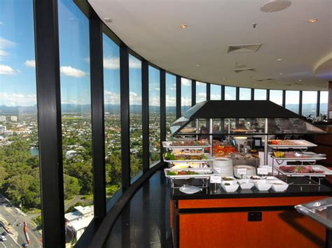 buffet picture of four winds revolving restaurant