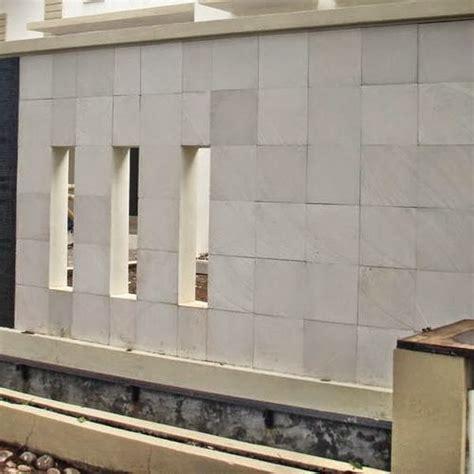gambar pagar tembok rumah minimalis  materi hebel