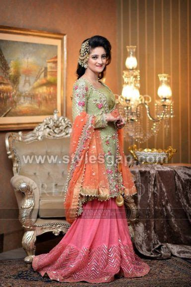 designs pakistani latest bridal lehenga collection