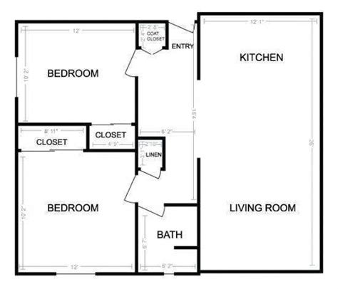 simple two bedroom house plans 2 bedroom designs plans buybrinkhomes