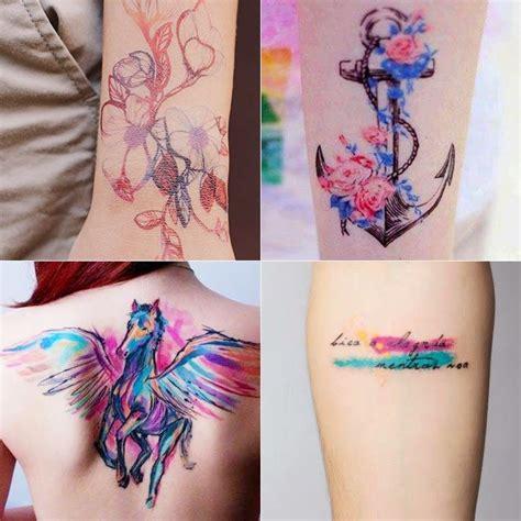 watercolor tattoo tecnica criativa de cavalo pesquisa tatuagens