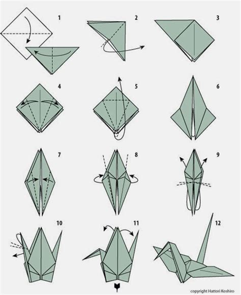 Gruya Origami - como hacer origami aprender origami corazn grulla