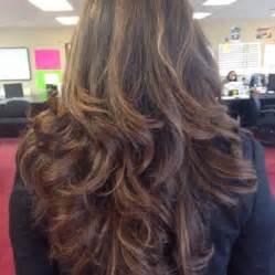 excellent hair salon she cut 3 4 inches and layered