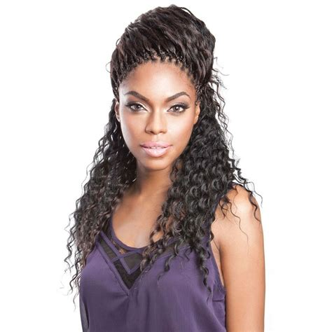 deep wavy micro braiding for older women deep wave human hair blended bulk micro braiding 20 22