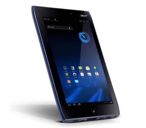 acer aspire iconia tab a100 android tablet gadgetsin