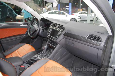 volkswagen tiguan 2016 interior 2016 vw tiguan auto expo 2016 live