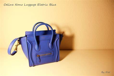 nano electric blue bag obsession