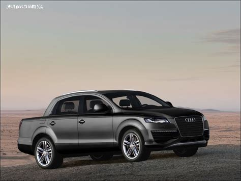 audi pickup truck audi q7 pickup by car mad mike on deviantart